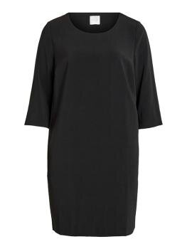 Vinathalia 3/4 Sleeve Dress i Black