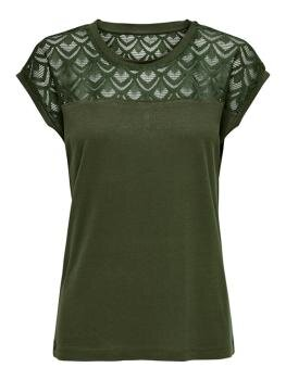 Nicole s/s Mix Top i Crocodile
