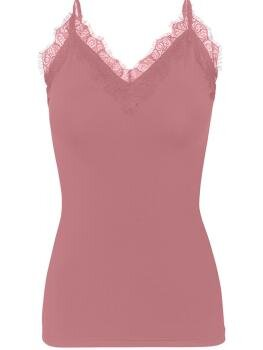 Strap Top i Pale Rose