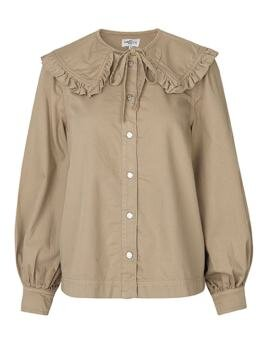 Rubie Denim Shirt i Light Sand