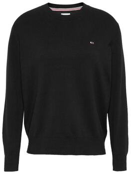 TJW Soft Touch Crew Sweater i Black BDS