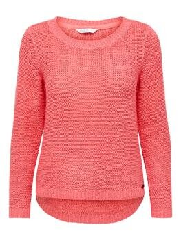 Geena XO l/s Pullover Knit i Tea Rose
