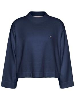 TJW Essential Sweater i Twilight Navy