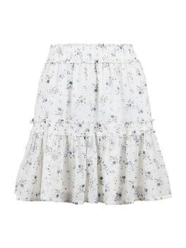Cosy Sprinkle Flower Skirt i Purple