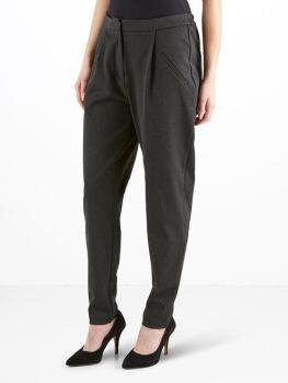 Yasclady Pant New i Dark Grey Melange